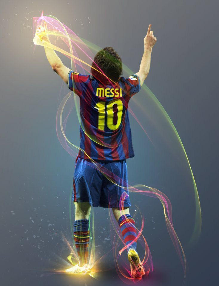 lionel messi photoshop working by thendr d5u0jkn